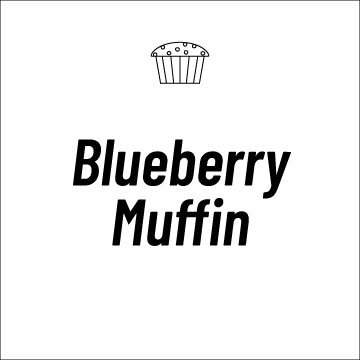 Blueberry Muffin Recipe Page