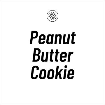 Peanut Butter Cookie Recipe Page