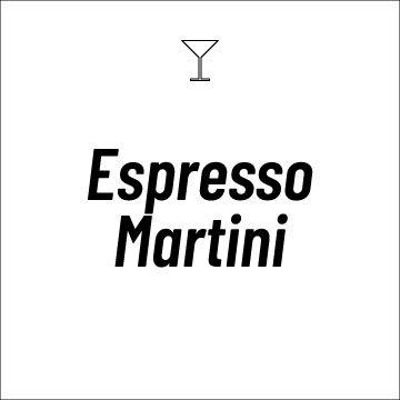 Espresso Martini Coffee Drink Recipe Page