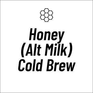 Honey (Alt Milk) Cold Brew Recipe Page