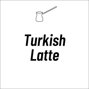Turkish Latte Recipe Page | How to Make a Turkish Latte Video and more!