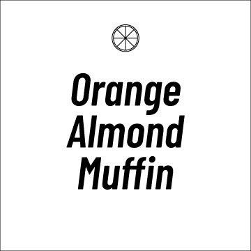 Orange Almond Muffin Recipe Page