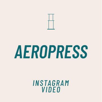 Aeropress Recipe and How To Video