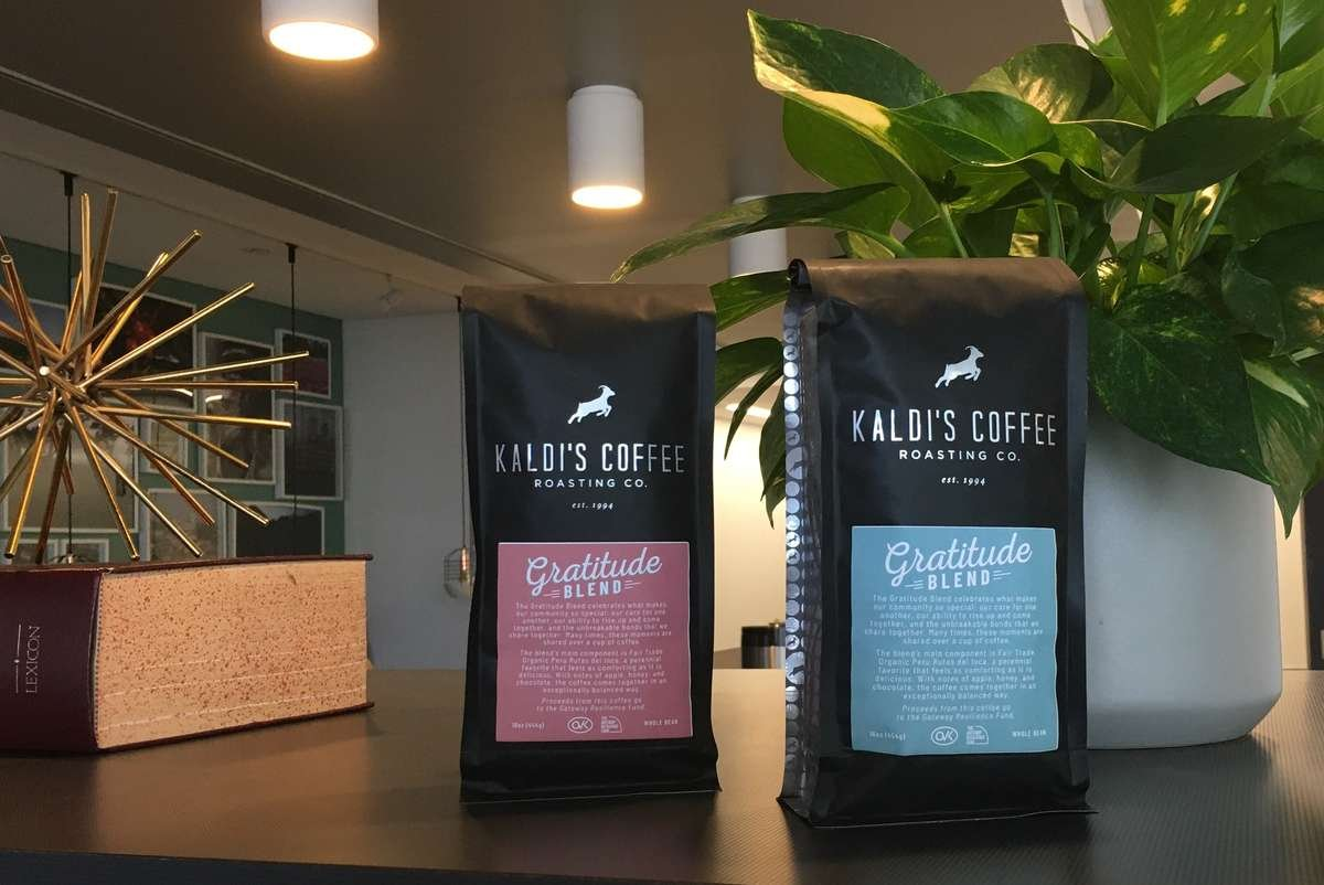 Kaldi's Coffee Gratitude Blend | Kaldi's Coffee Charitable Donations