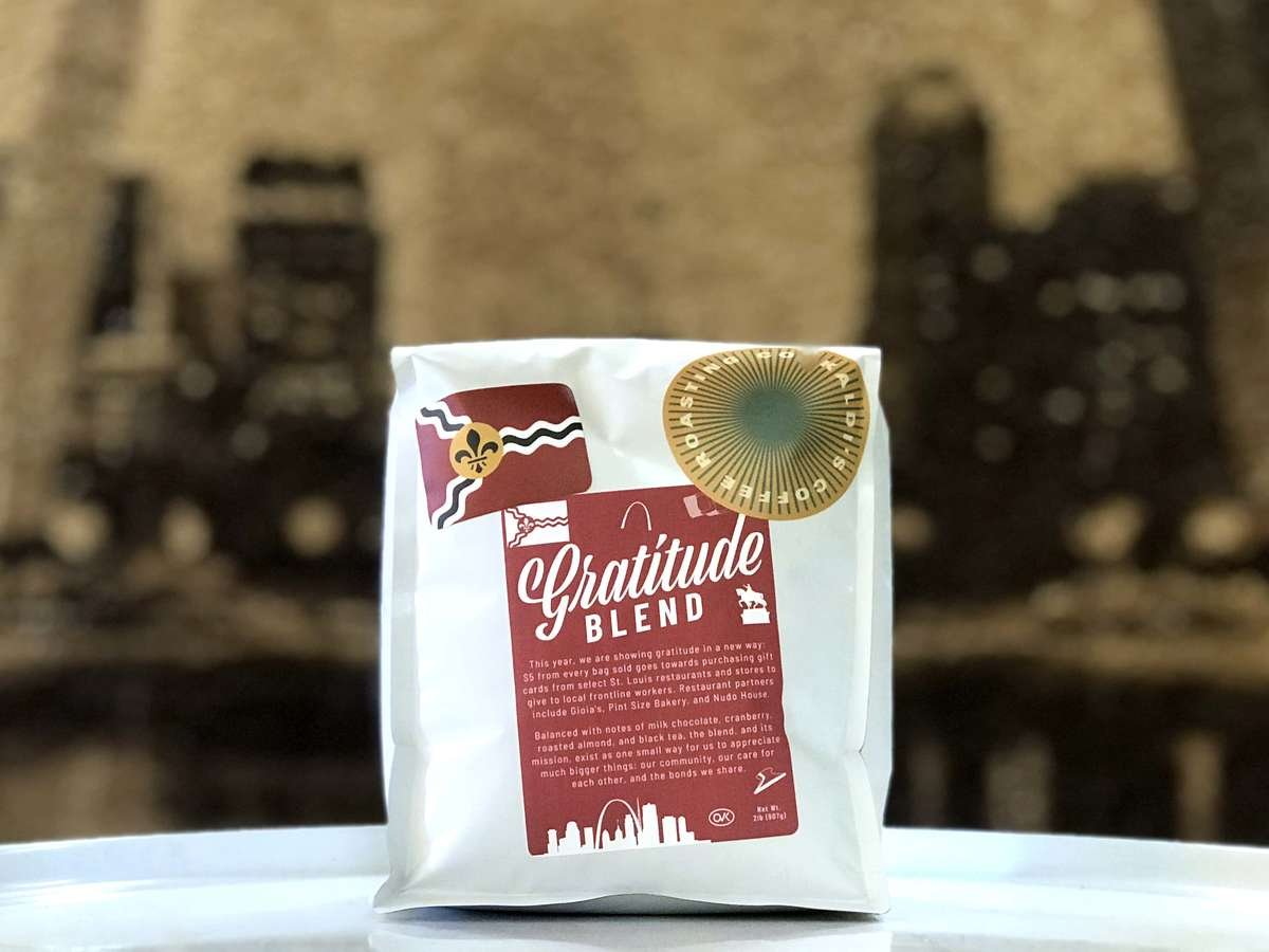Kaldi's Coffee Gratitude Blend | Kaldi's Coffee Charitable Donations