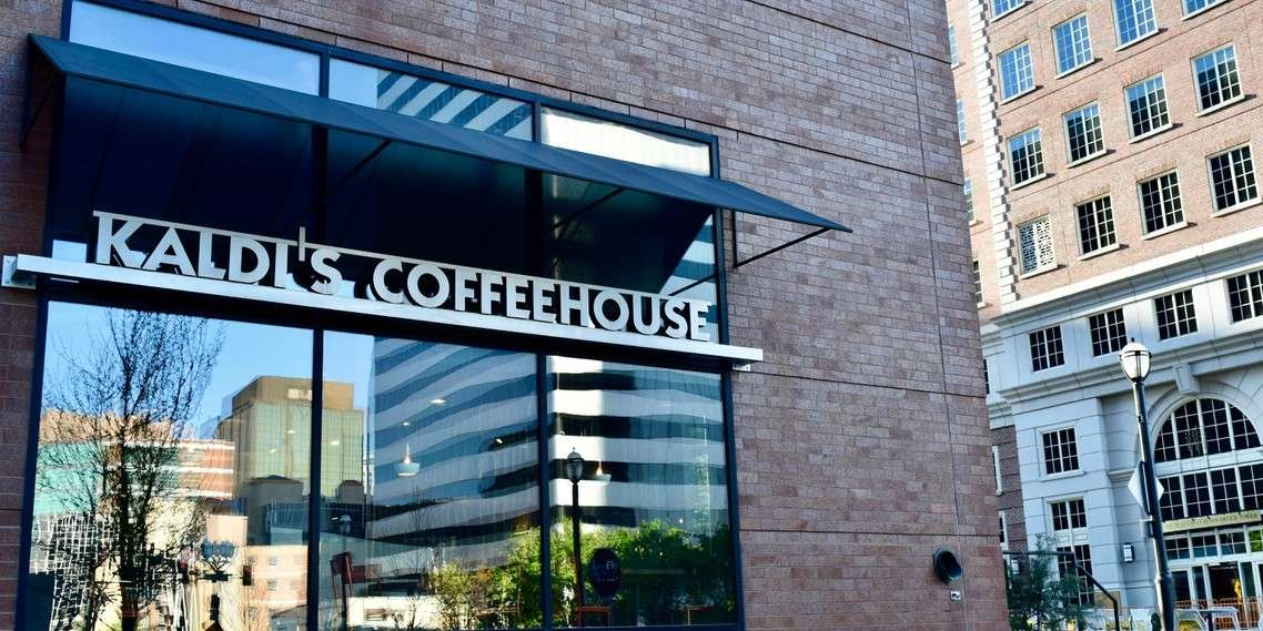 The exterior of our Crescent cafe in Downtown Clayton, MO