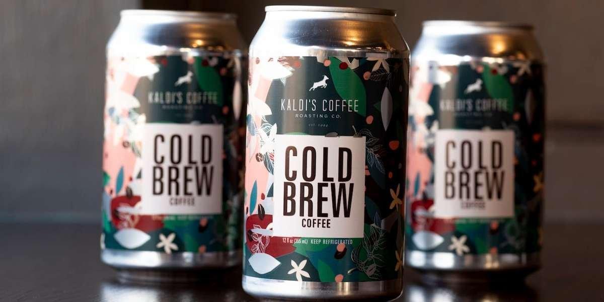 Kaldi's Coffee Cold Brew Cans