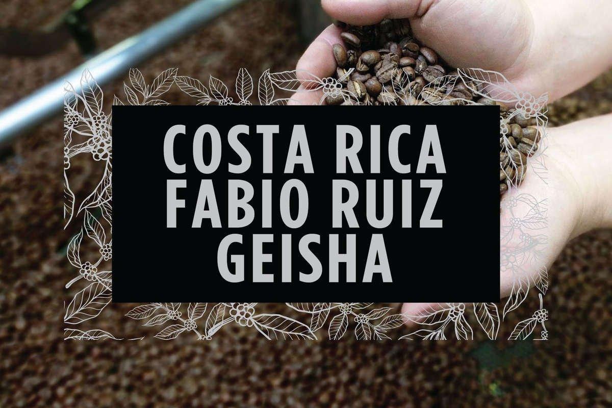 Costa Rica Fabio Ruiz Geisha