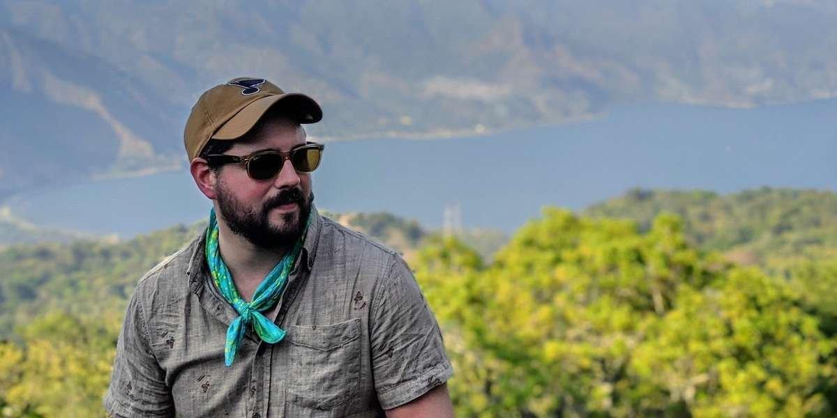 Bud on an origin trip to Guatemala