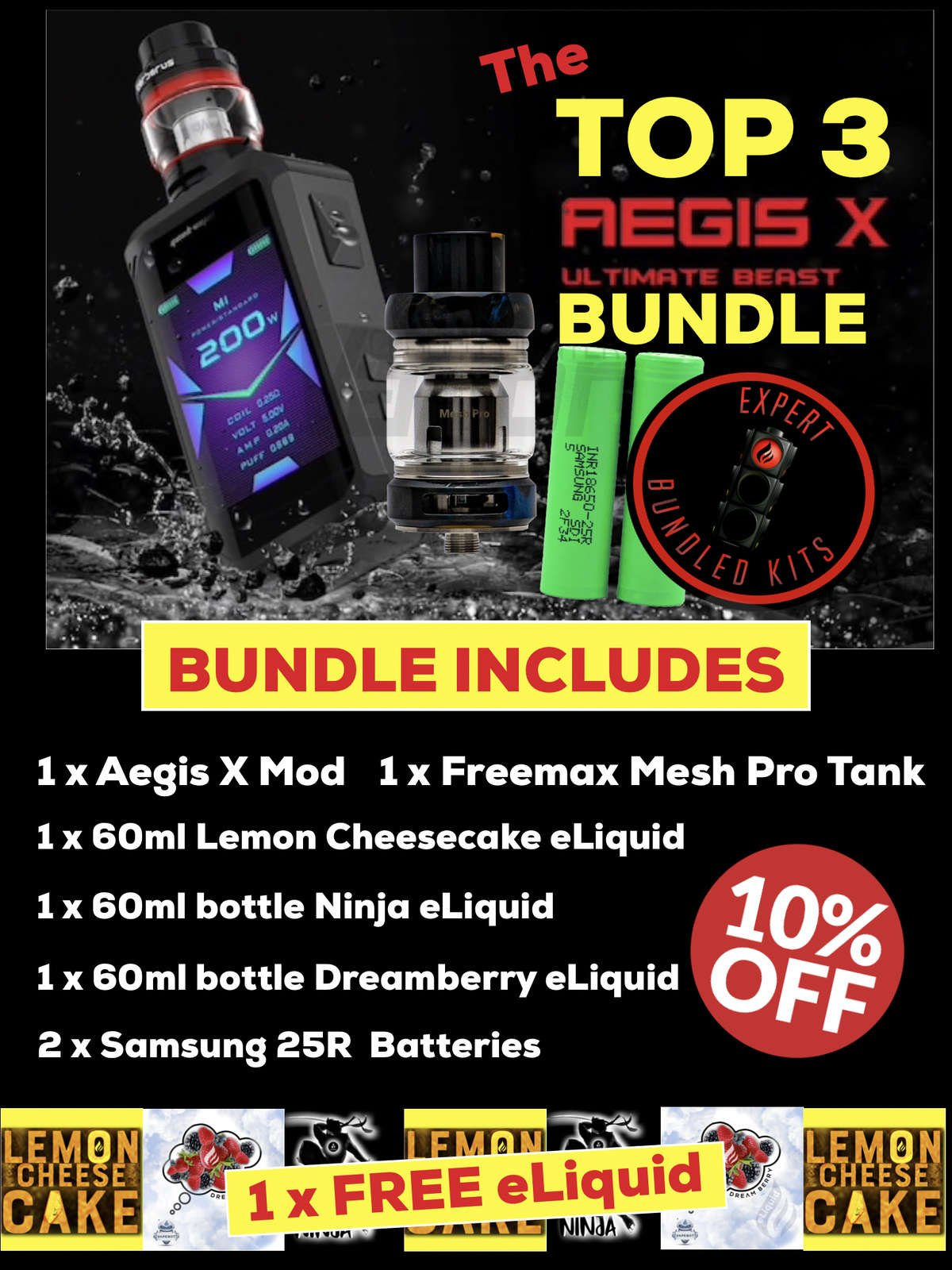 TOP 3 Aegis X Bundle