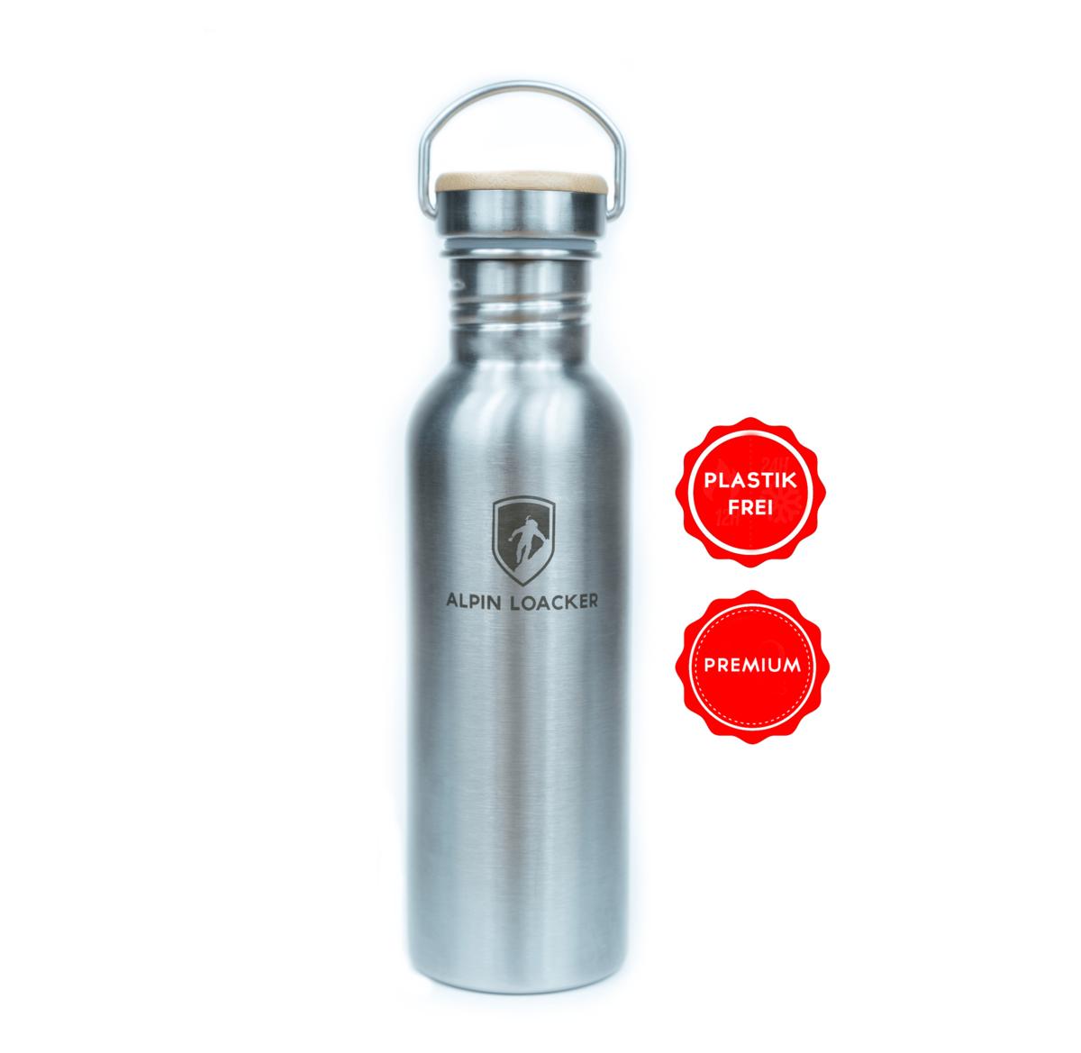 Hyperpage Edelstahl Trinkflasche