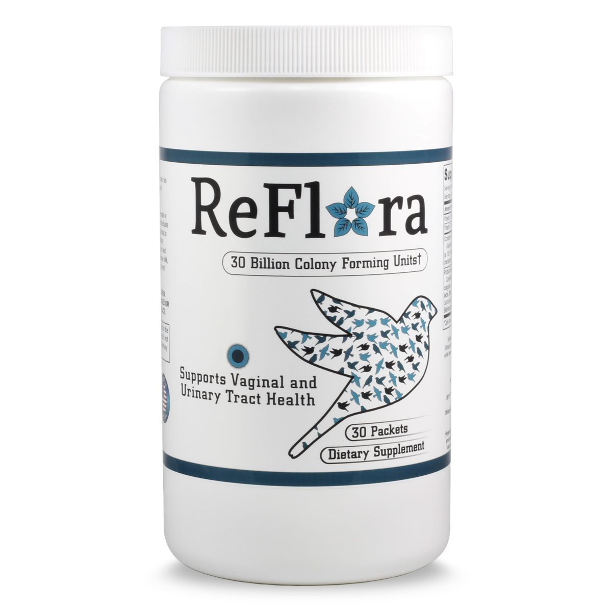 Reflora probiotic and cranberry for vaginal and urinary tract health