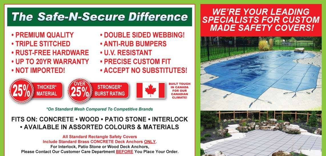 Safe-n-Secure Pool Safety Cover