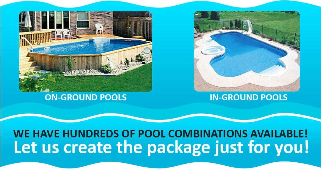 On-ground & In-ground Pools | Discounter\'s Pool & Spa Warehouse
