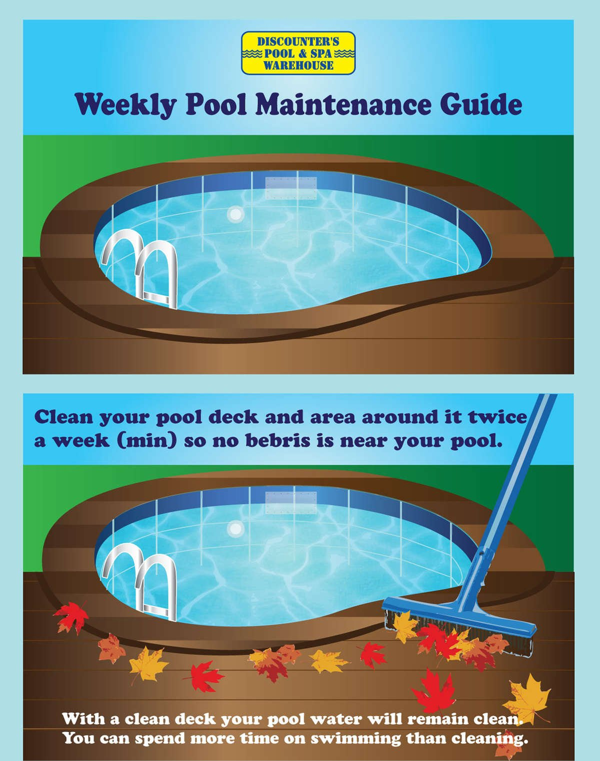 Weekly Pool Maintenance Guide