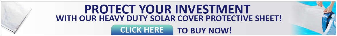 Solar cover protective sheet