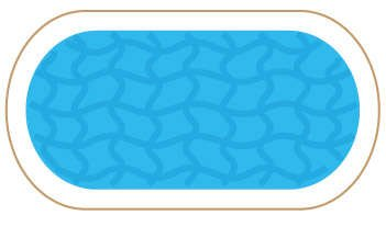 Oval Custom Pool Safety Covers