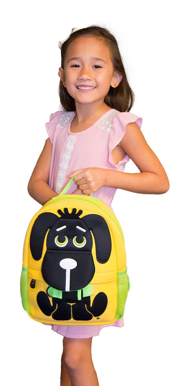 kids backpack, zoo collection
