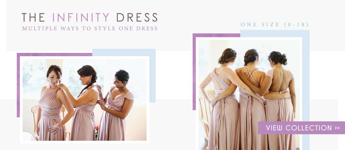 Infinity Dresses, Infinity Dresses Canada, Wrap Dresses