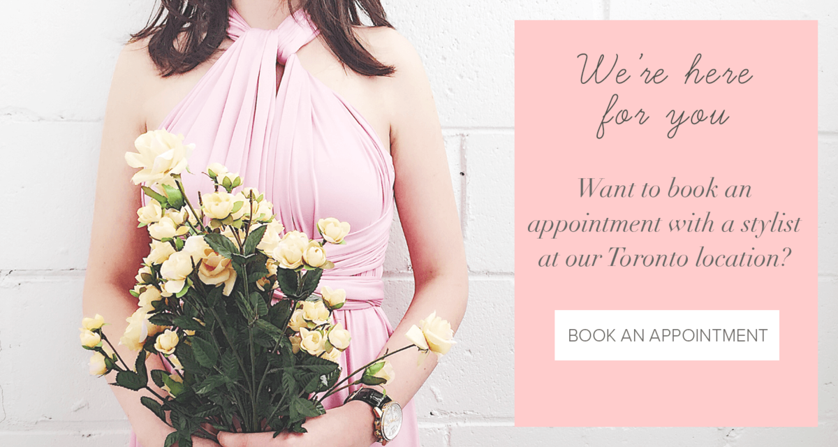 Book a Bridesmaid appointment at our north york location