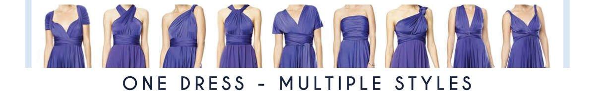 Marlas Infinity Dresses - Wrap Dresses - Convertible Dresses