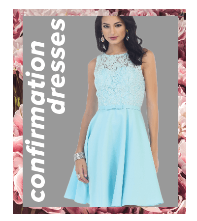 Shop for modest and simple dresses for confirmation!  Something simple and girlish for  your confirmation or grade 8 graduation.