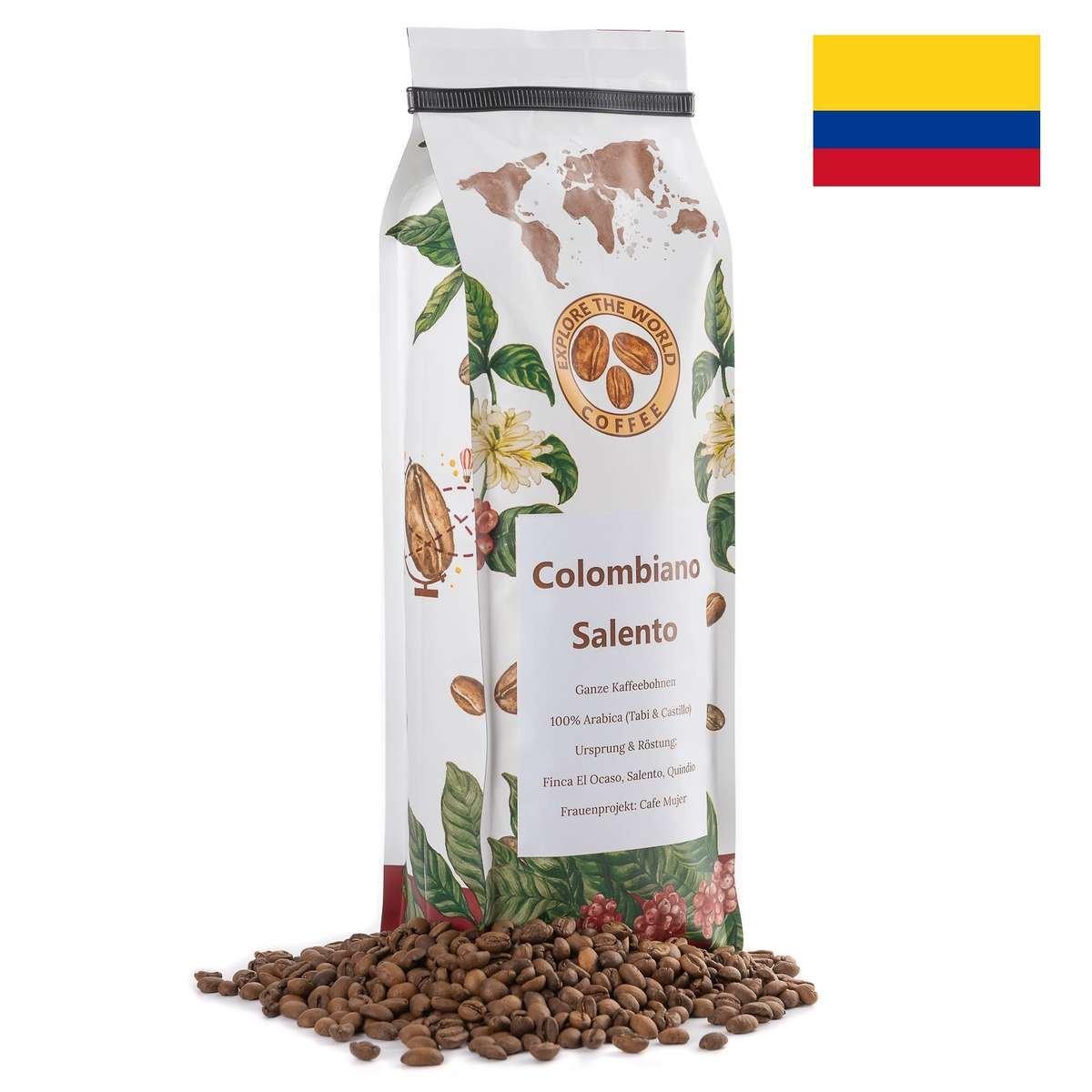 Kaffee Bohnen aus Kolumbien kaufen. Gerösteter Kaffee bestellen.