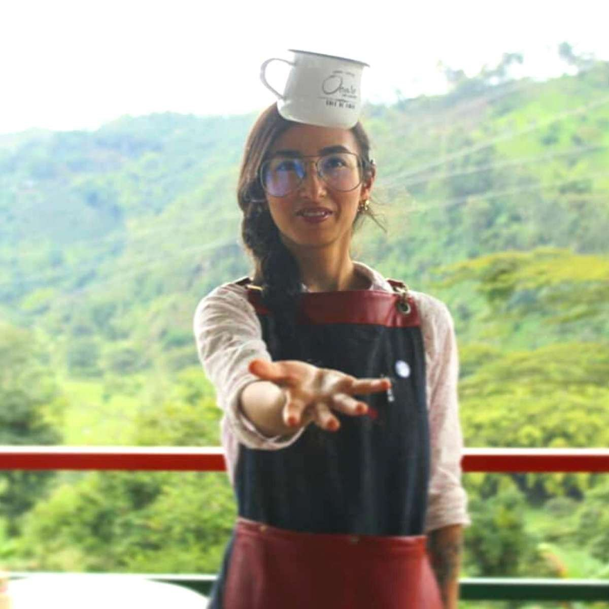 Frische Kaffee Bohnen aus Afrika, Ruanda.