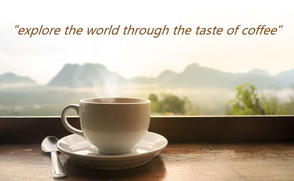 Kaffee Probierset im Online Shop kaufen. Geröstete Kaffee Bohnen kaufen.
