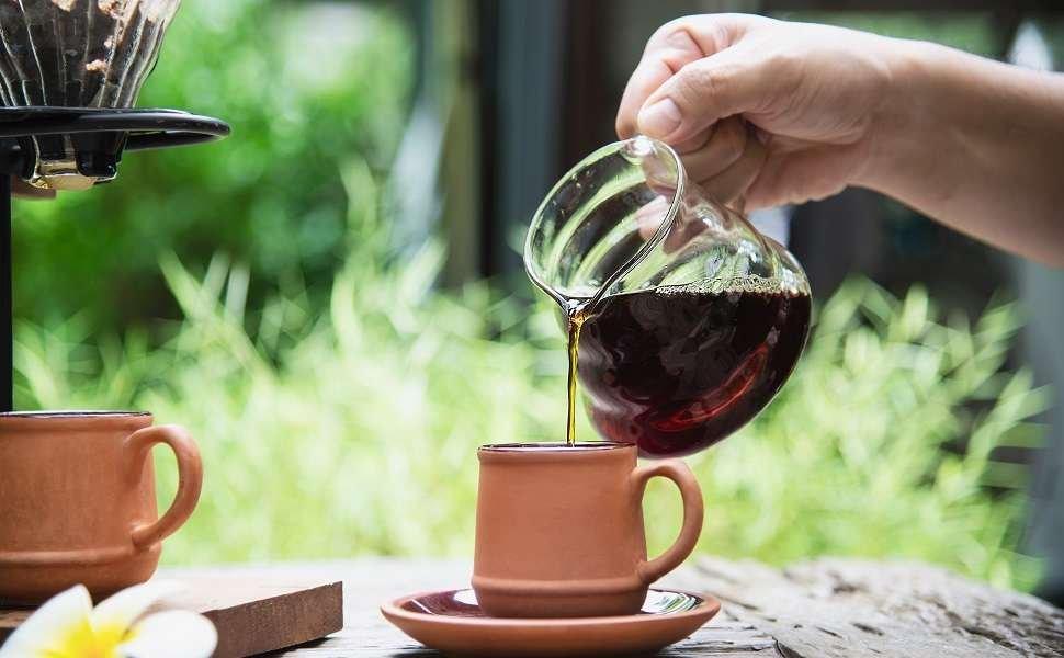Frischer Kaffee, direkt aus Kolumbien.