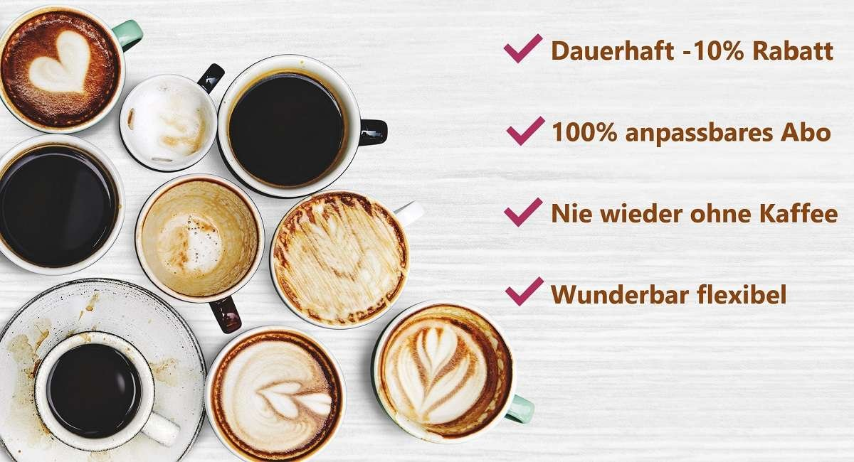 Explore the world coffee - Kaffee Abo Vorteile