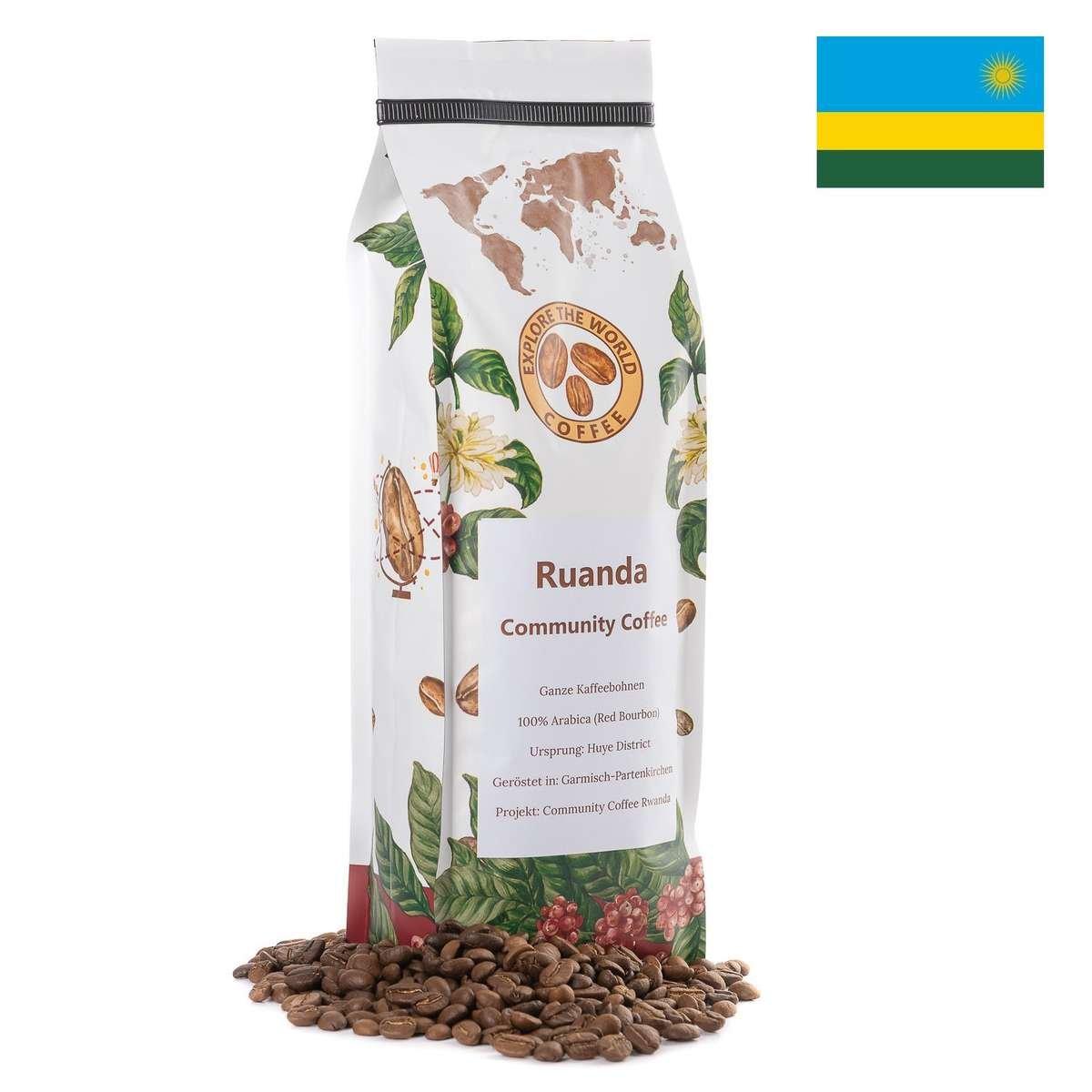Kaffee aus Ruanda kaufen. Ruandischer und Afrikanische Kaffeespezialität online bestellen.