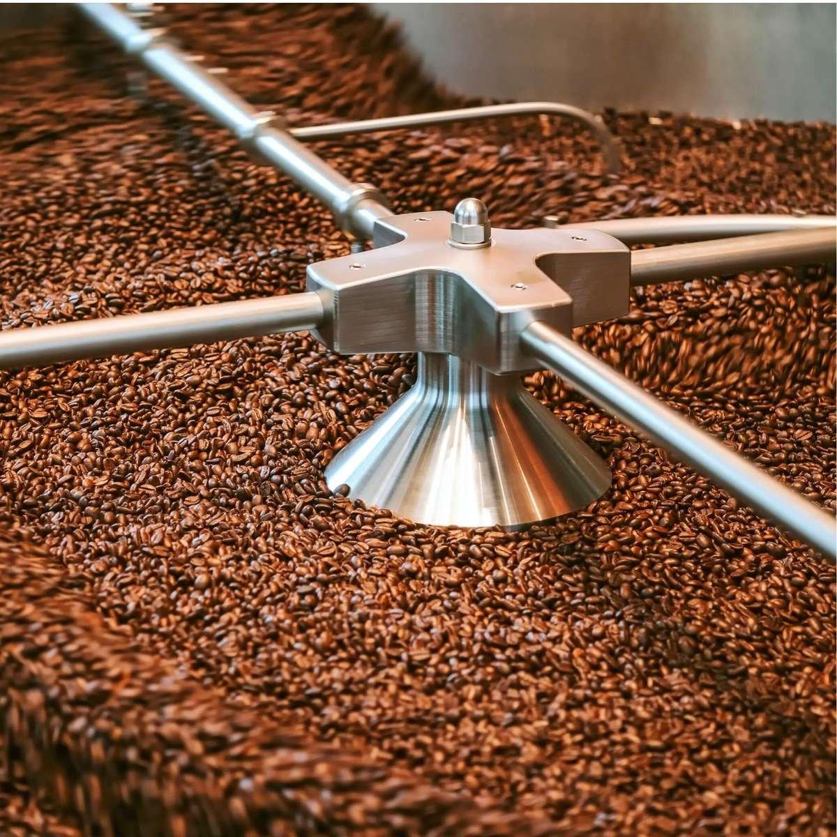 Kaffeebohnen direkt aus Ruanda.