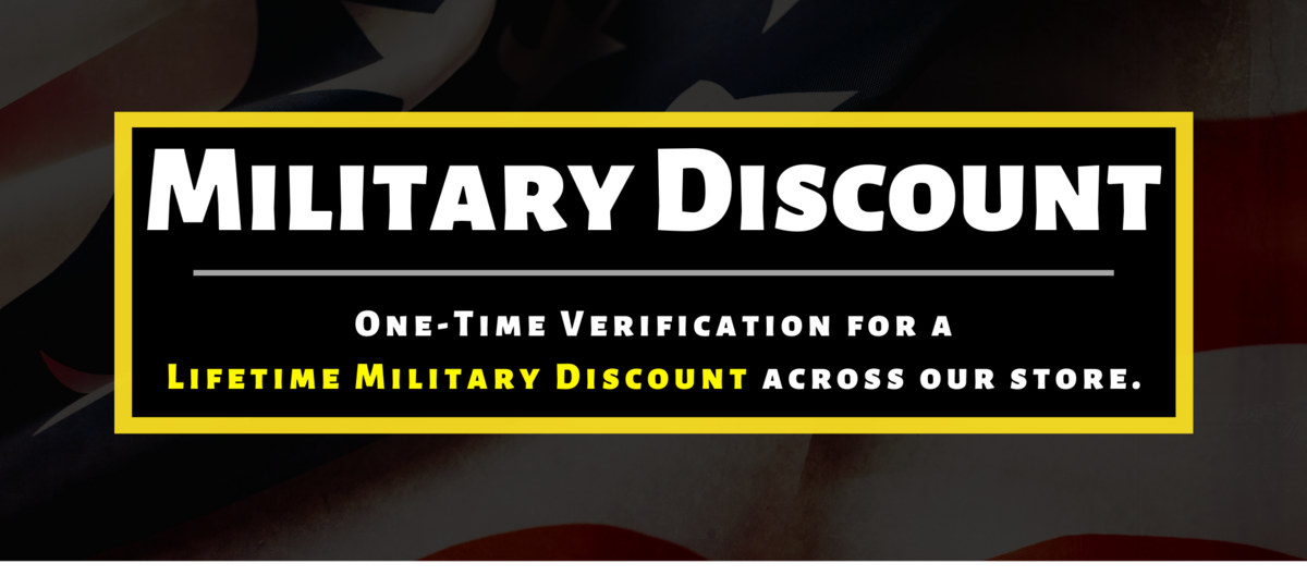 Military Discount - The Banger Store