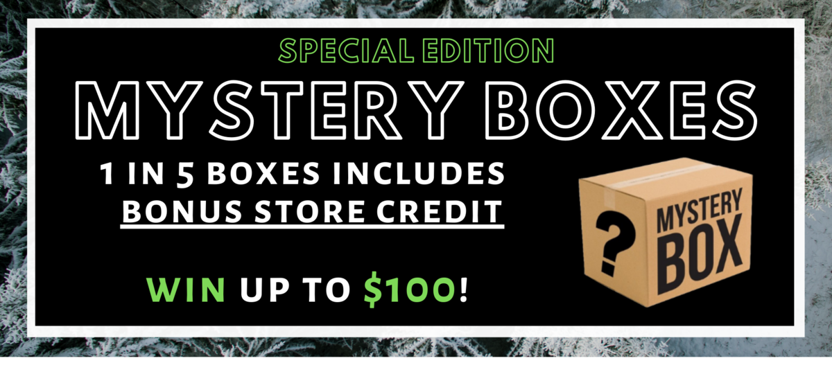 Special edition mystery boxes