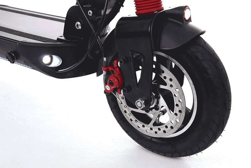 zero 10 electric scooter front disk brake