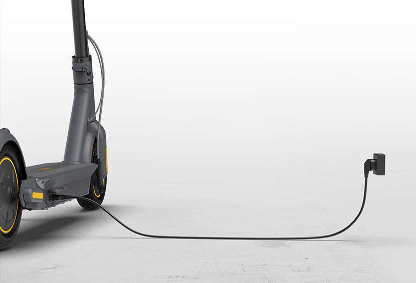 Segway ninebot MAX electric scooter fast charge charging cable chord long easy