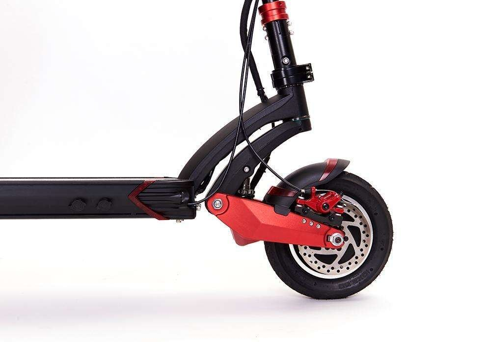 zero 10x electric scooter front disc brakes