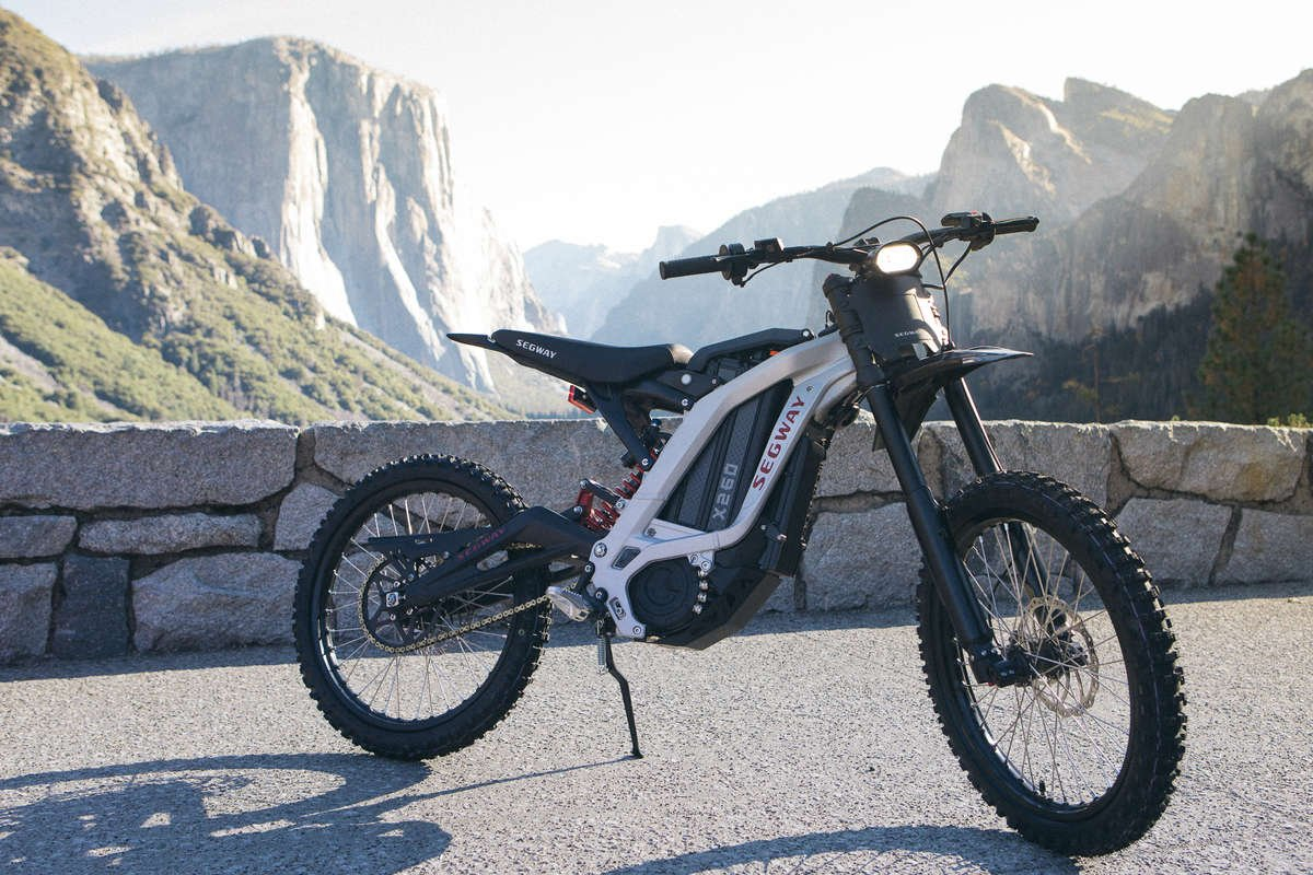 Sur Ron segway ninebot dirt ebike electric bike photos silver
