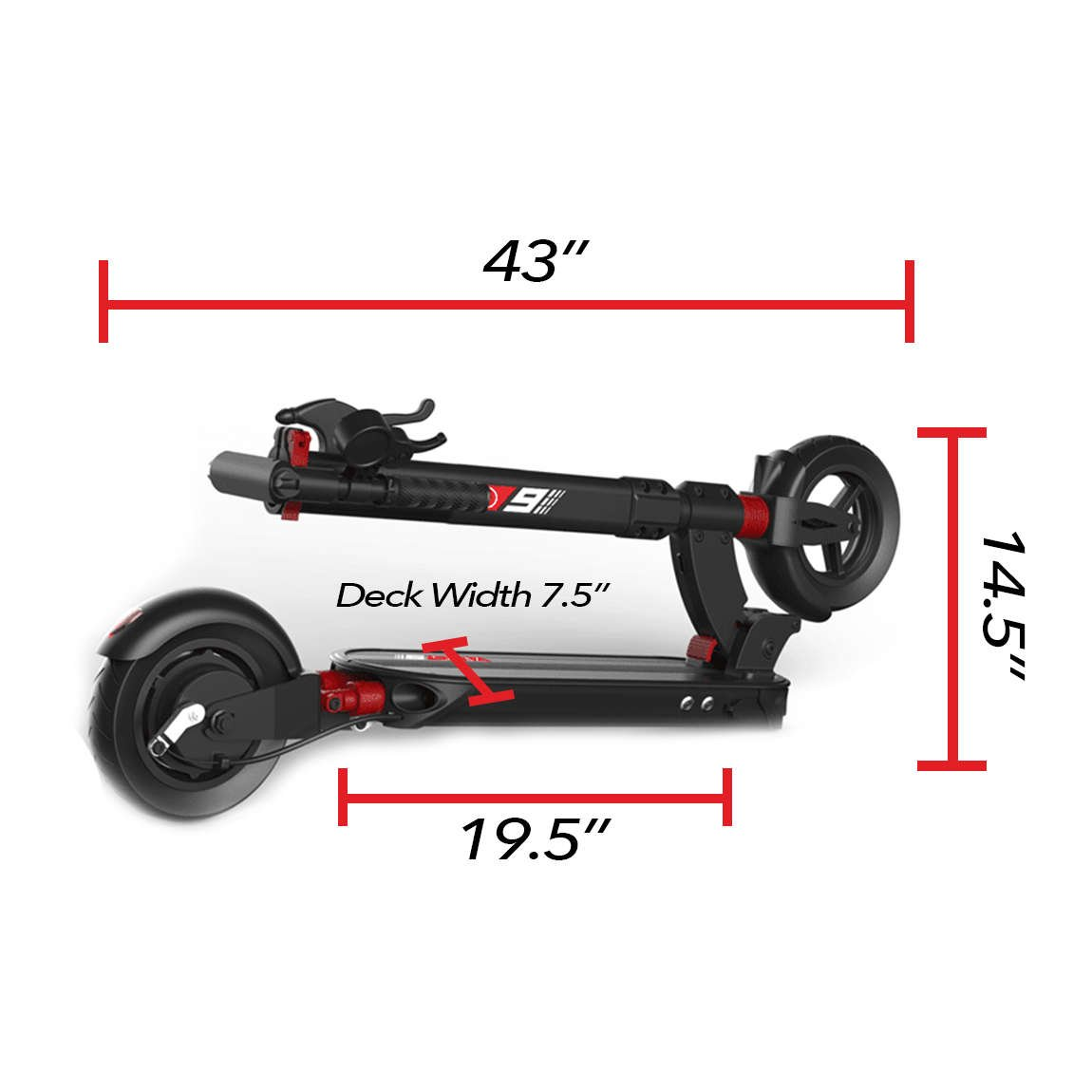 zero 9 electric scooter dimensions folded