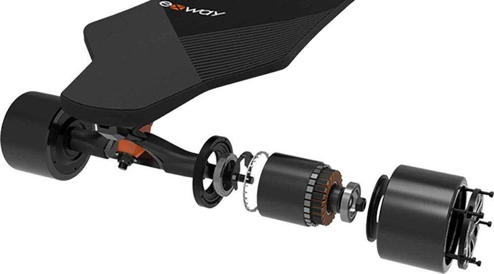 exway adult electric skateboard esk8 x1 pro riot hub motor