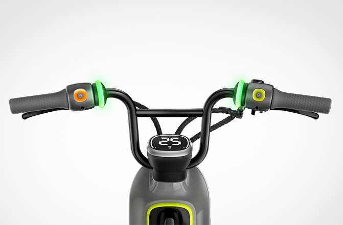 Segway Ninebot Electric ebike moped c80 smart seated scooter throttle Dashboard throttle buttoned