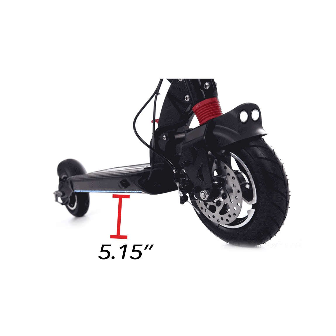 zero 9 electric scooter ground clearance