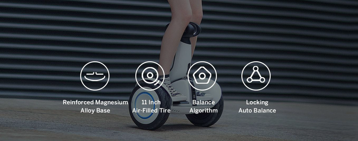 Segway Ninebot S-plus self balancing electric vehicle specs
