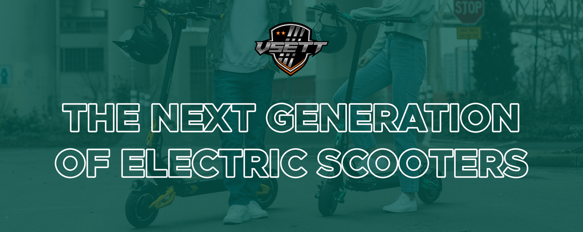 VSETT 9 Electric scooter by ZERO 9 electric scooters