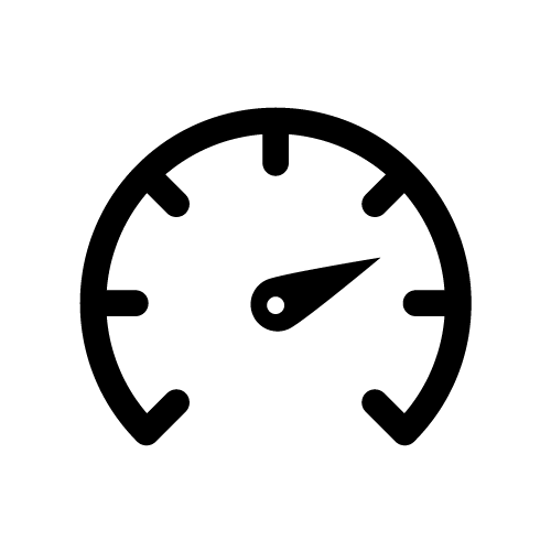 speedometer indicator icon
