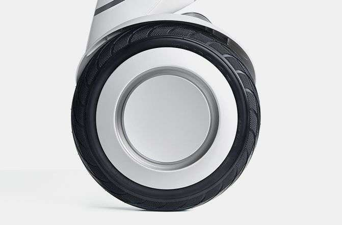 Segway Ninebot S self balancing electric vehicle tire has great traction