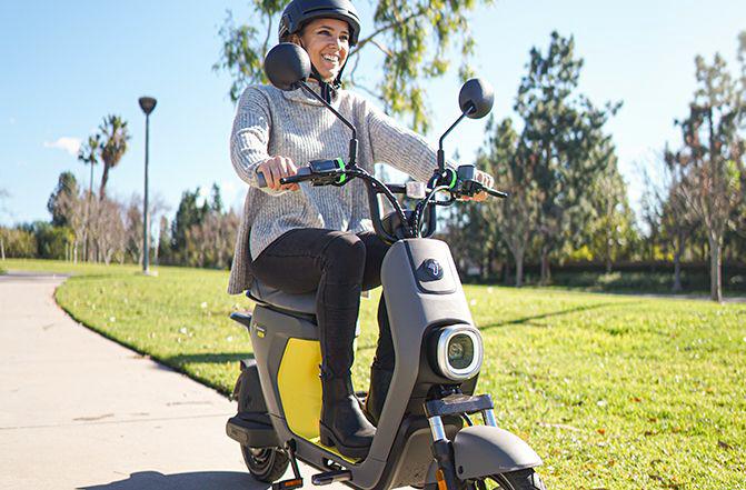 Segway Ninebot Electric ebike moped c80 Smart seat safety