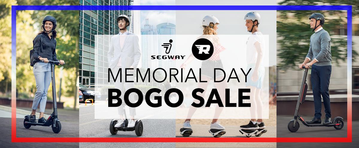 Segway memorial day sale buy one get one. BOGO deals