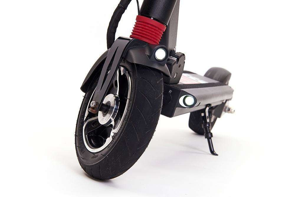 zero 8 electric scooter front view